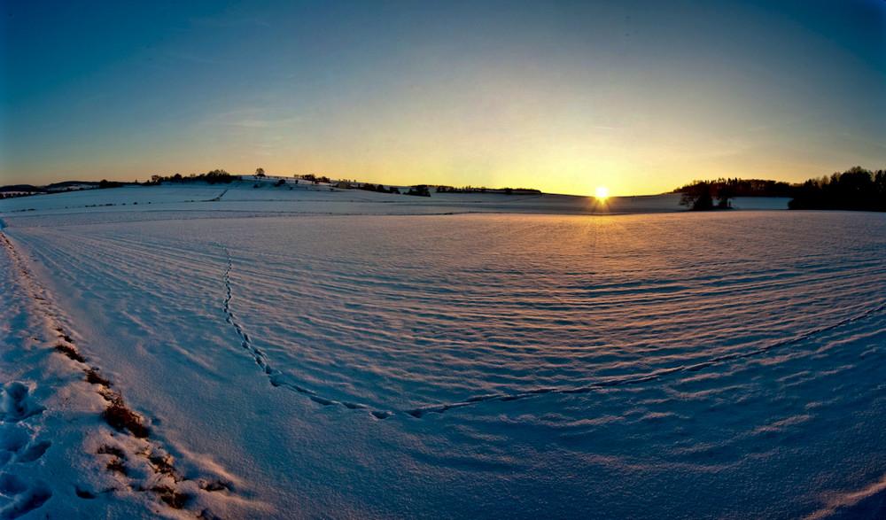 Sunset in the Vogelsberg
