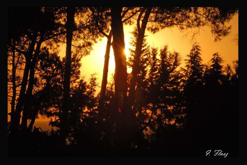 SUNSET IN TURKIA
