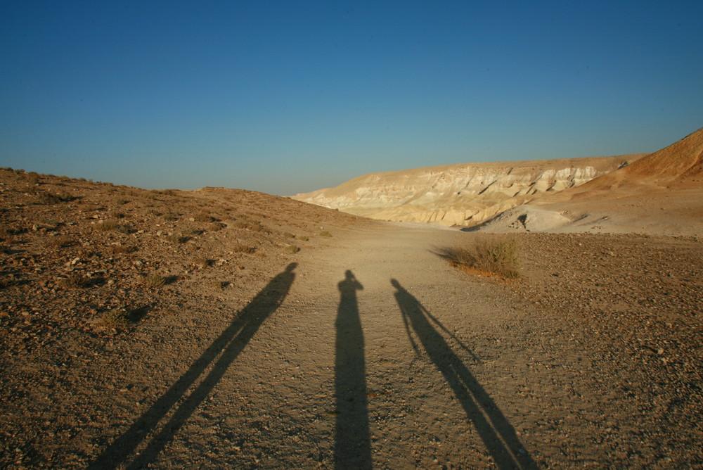 Sunset in Wadi Hawarim (Negev)