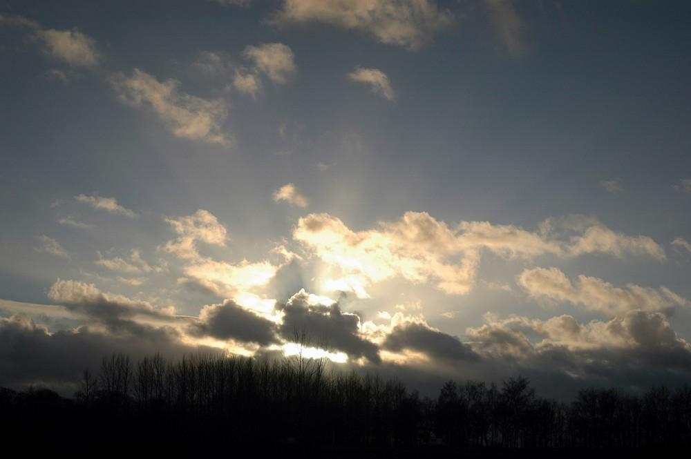 Sunset in Wedde
