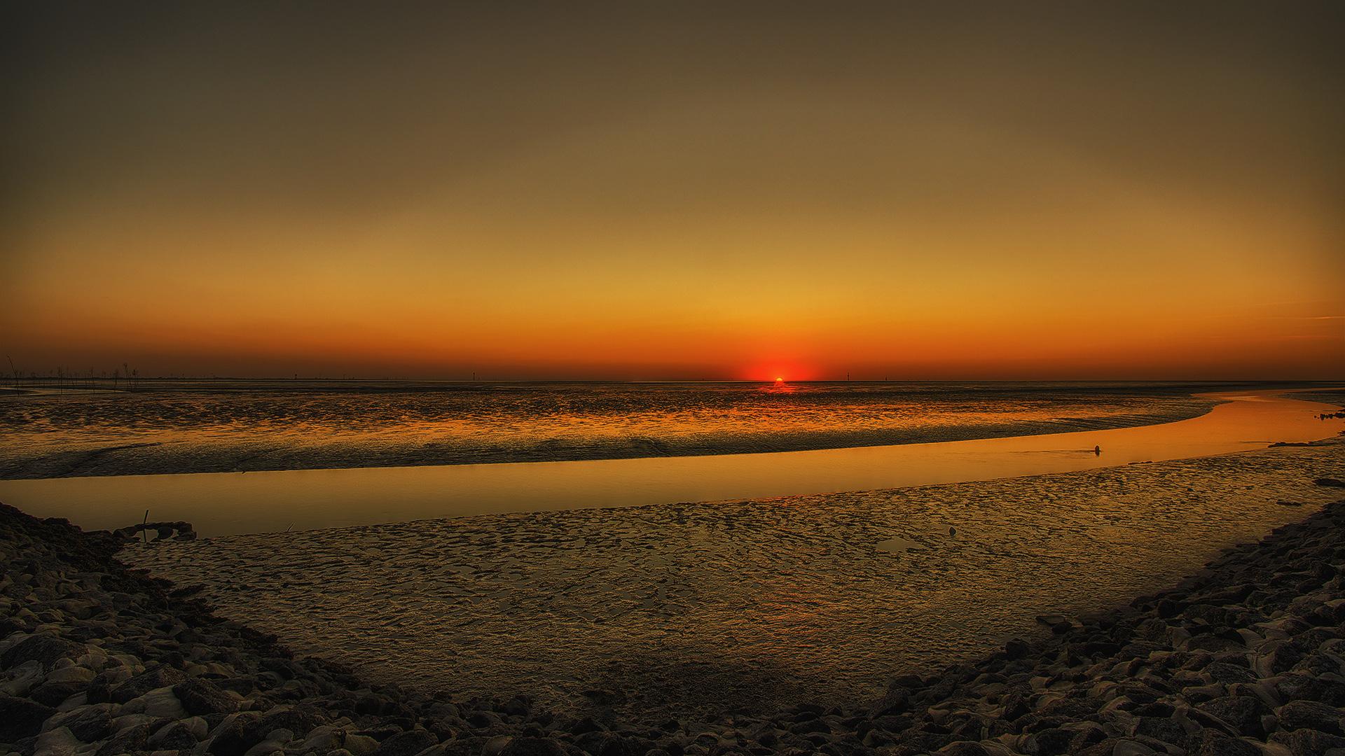 Sunset in Wremen...