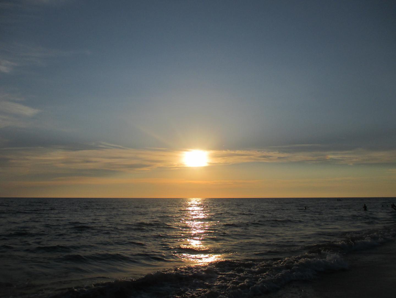 sunset IX
