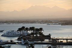 sunset Jachthafen Hurgada egypt H-74