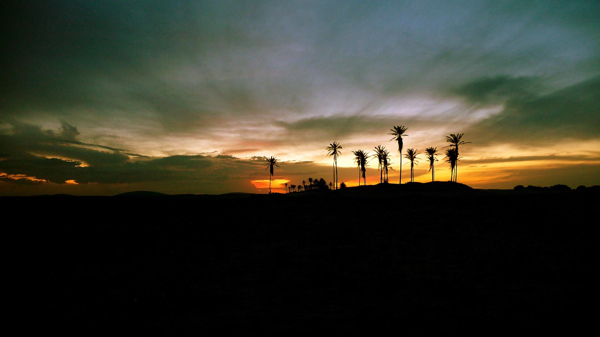 sunset jericoacoara,brasil