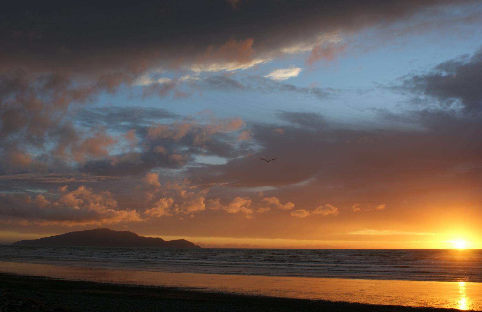 Sunset @ Kapiti Island