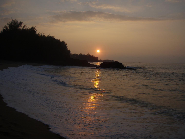 sunset , kauai hawaii 2009