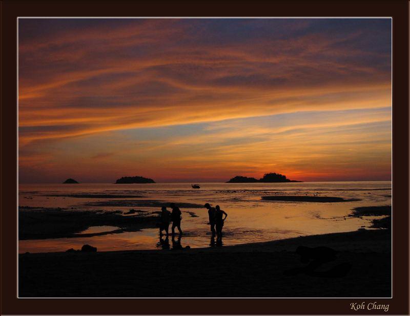 """Sunset """"Khlong Phrao Beach"""""""