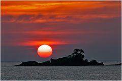 sunset ko chang thailand