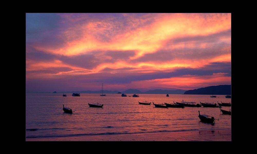 Sunset Krabi Beach (2)