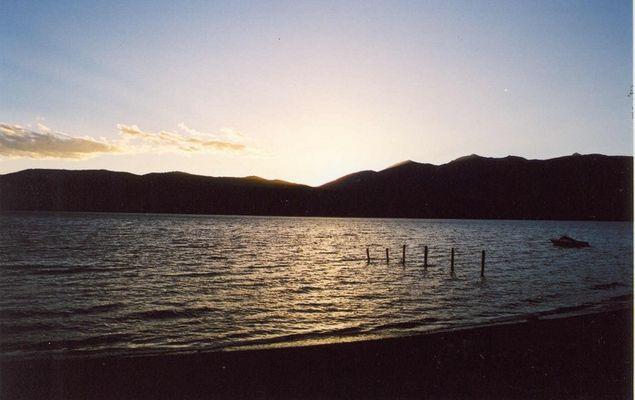Sunset Lake TeAnau