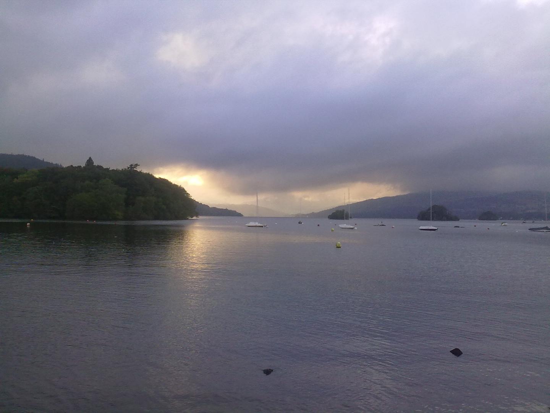 Sunset Lake Windermere