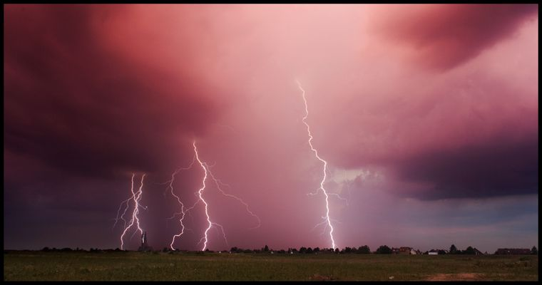 Sunset Lightning (II)