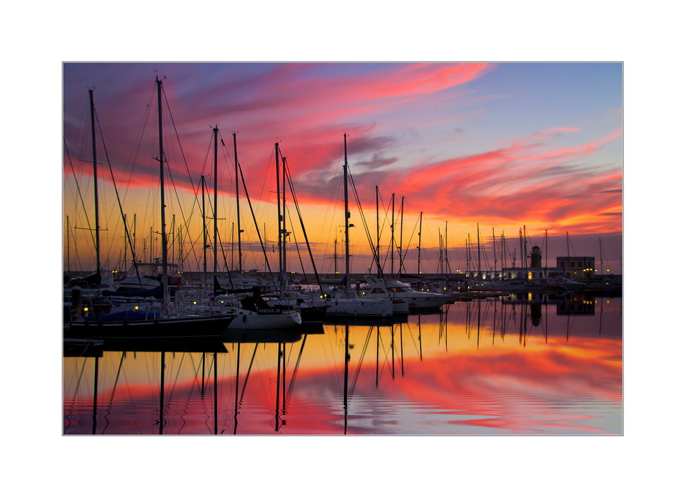 Sunset Marina Rubicon