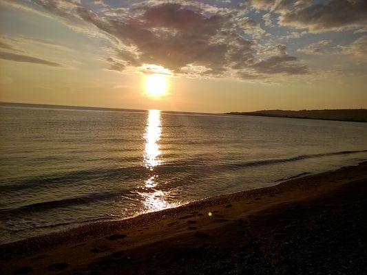 Sunset Marinella beach (Lamezia Terme) 6-5-2016