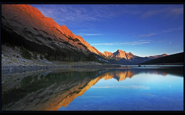 Sunset @ Medicine Lake