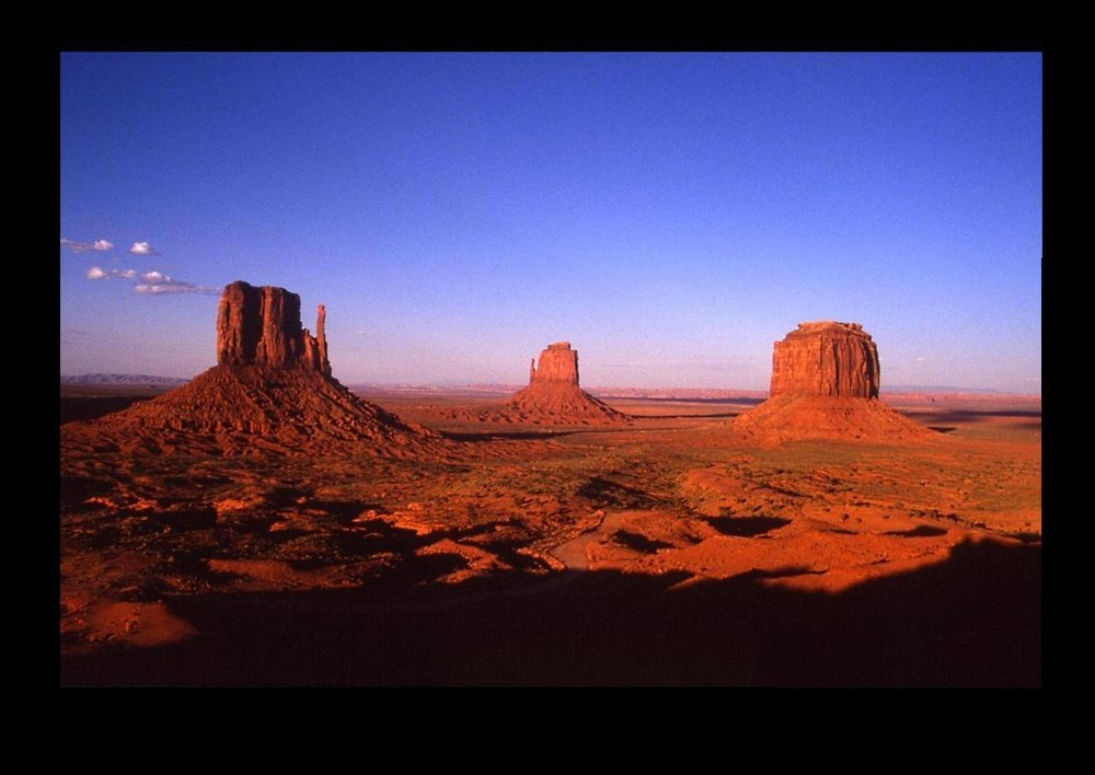 sunset - Monument Valley -