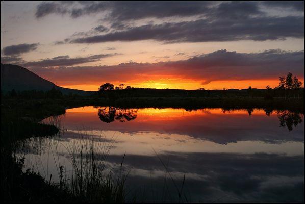 ~ Sunset - Murnauer Moos I ~
