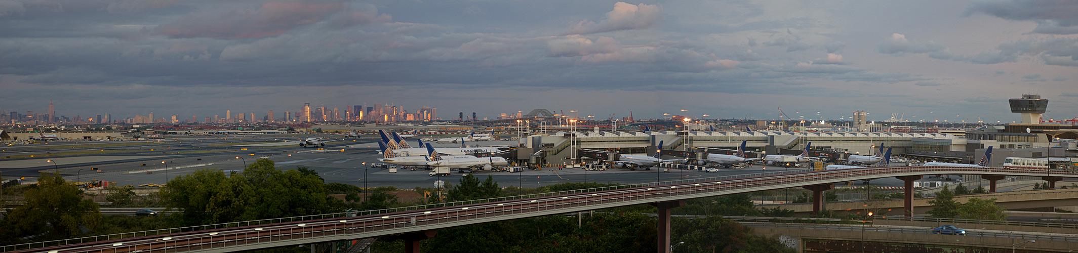 Sunset @ Newark / NYC