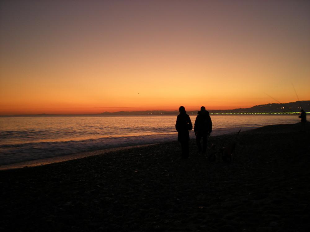 sunset niçois…