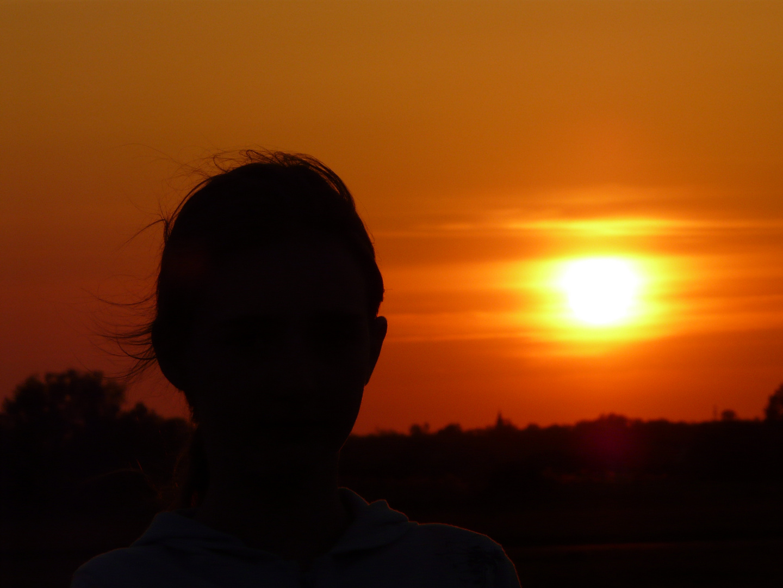 sunset of a youthful