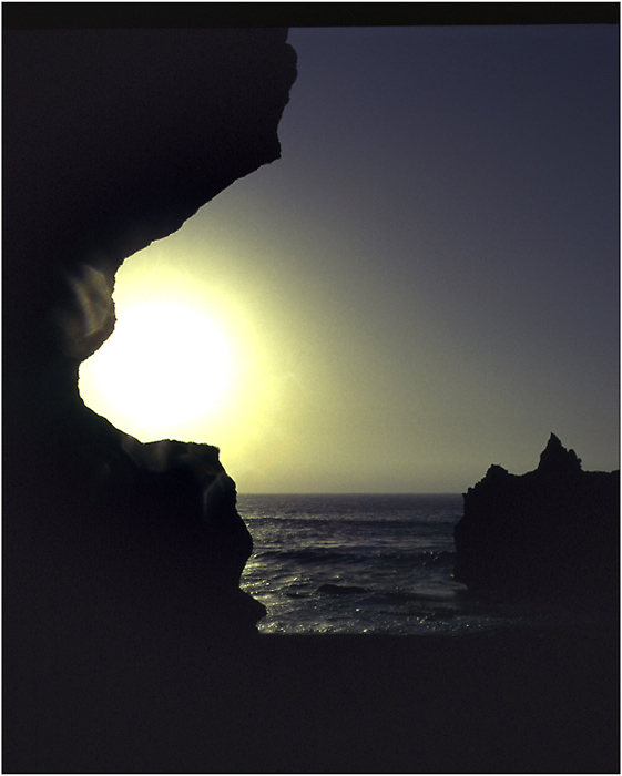 Sunset of Lanzarote