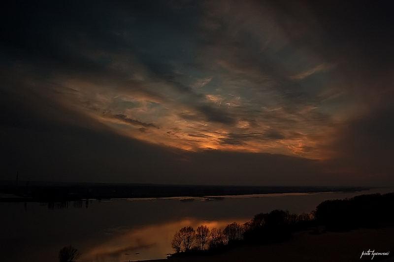 Sunset of Plock