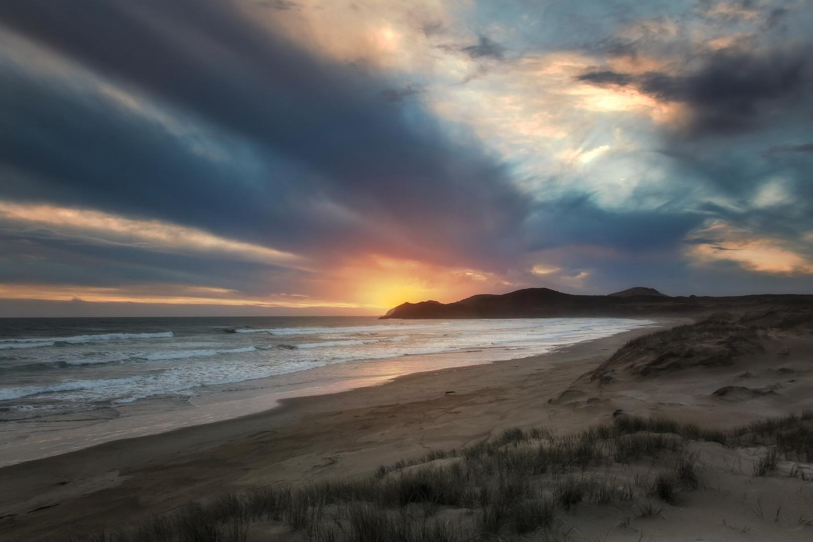 Sunset on 99 Mile Beach