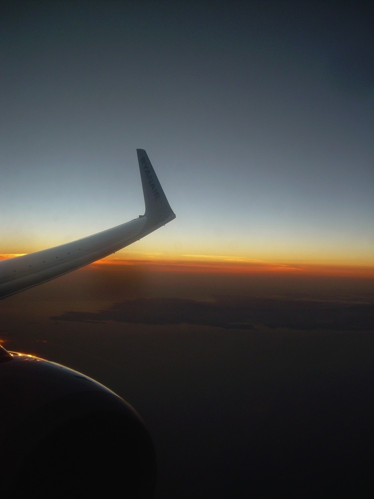 sunset on air