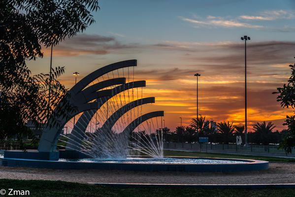 Sunset on Dec 6 Abu Dhabi 08