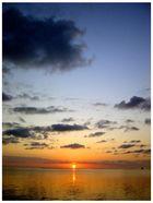 Sunset on Lord Howe Island