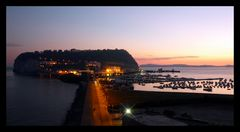 Sunset on Nisida