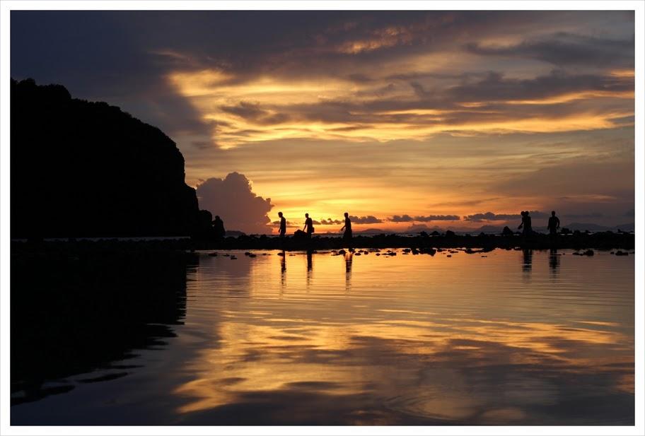 Sunset on Phi Phi