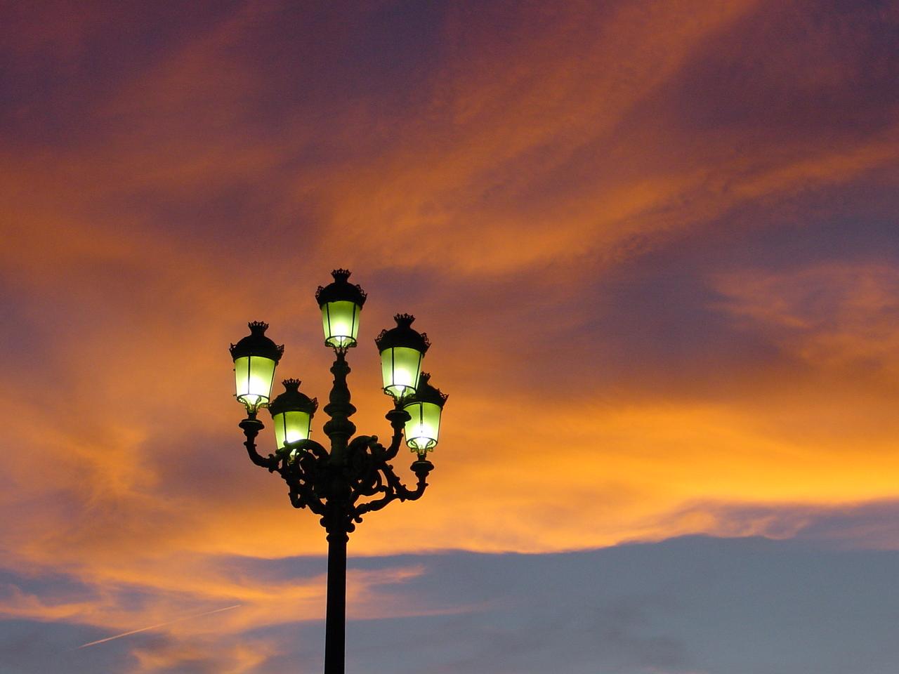 Sunset on Plaza Mayor