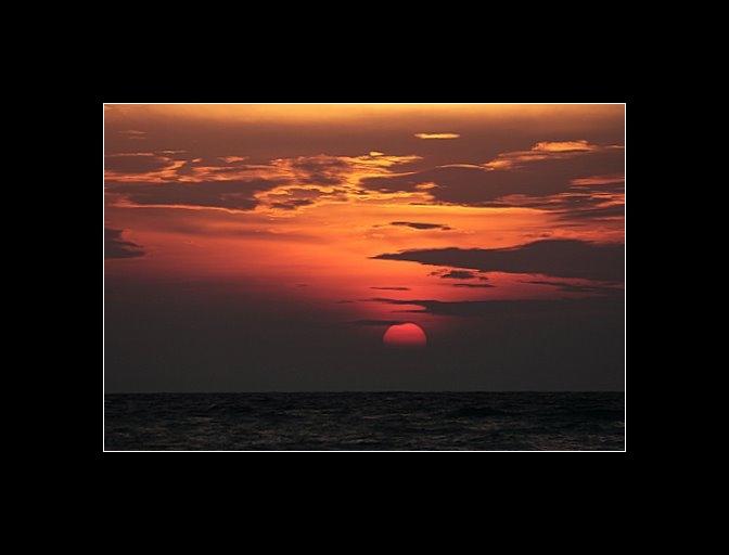 Sunset on Roatan