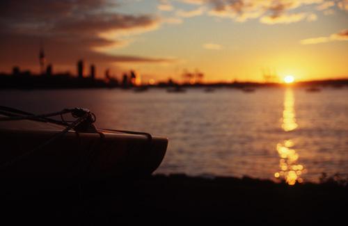 Sunset on Tamaki Yachtclub