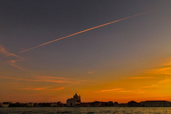 Sunset on the Giudecca....