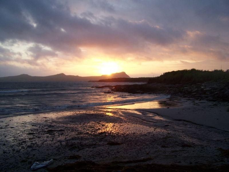 Sunset over Ballydavid