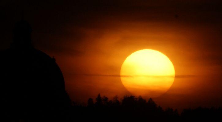 Sunset over Bern