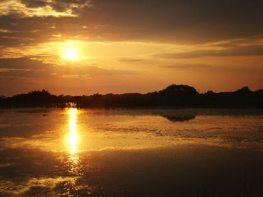 Sunset over Broadpool