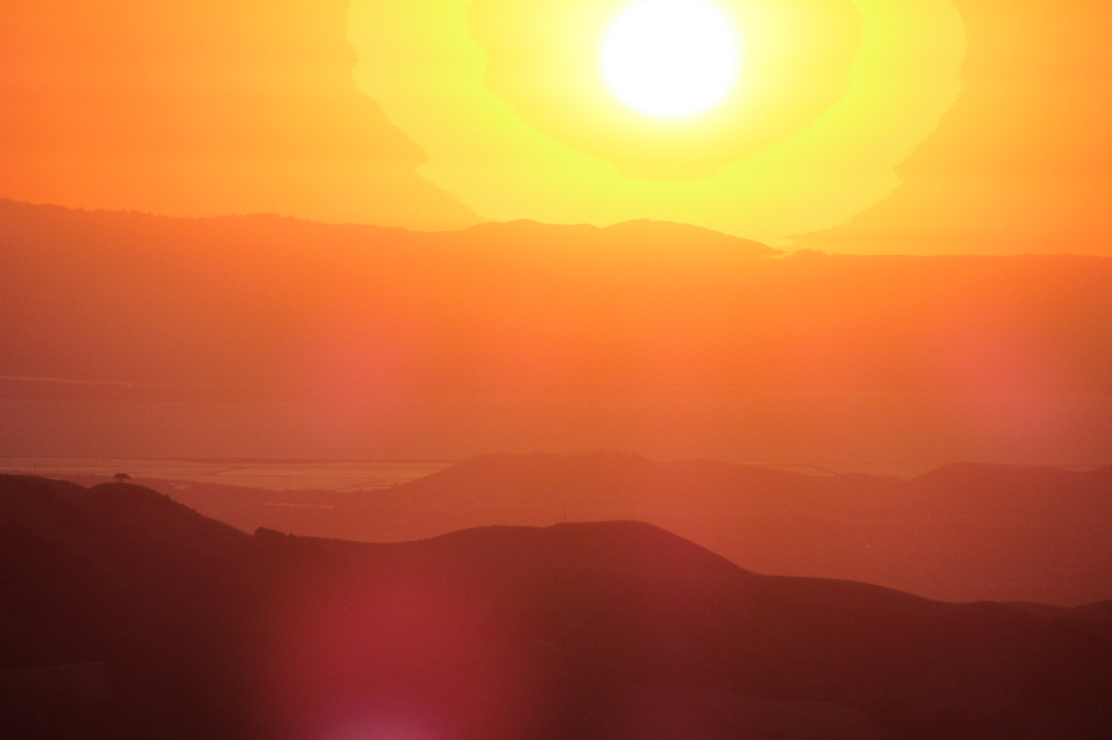 Sunset over Frisco Bay - California