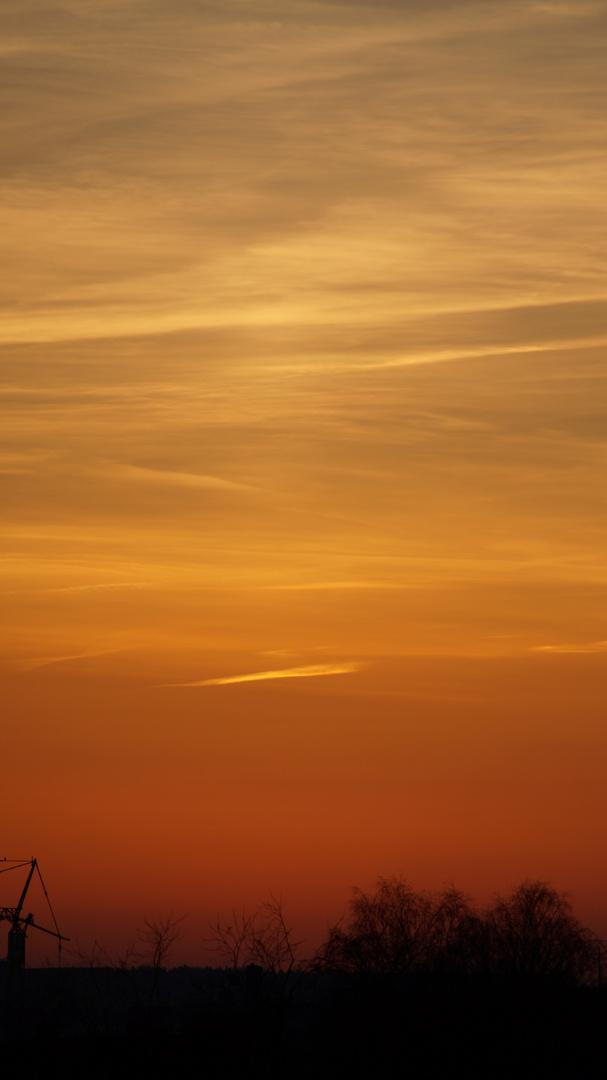 Sunset over Hamburg die 2.te