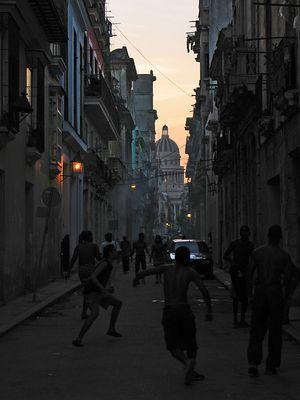 Sunset over Havanna