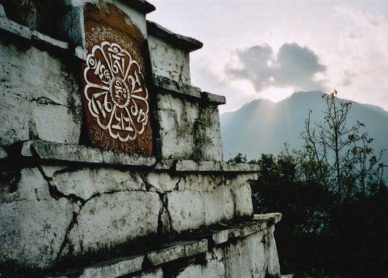 Sunset over Pemayangtse (Sikkim)
