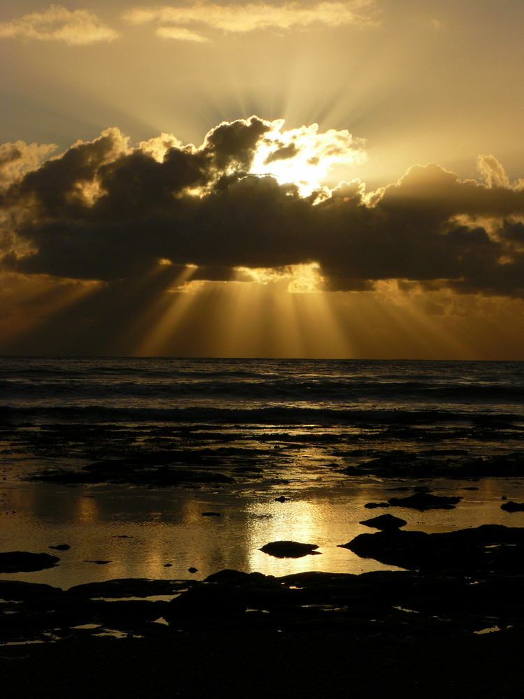 Sunset over  Pismo Beach