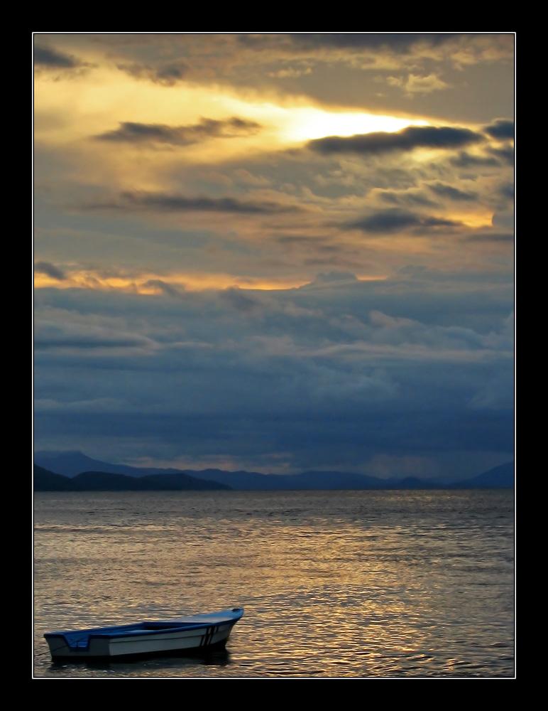 Sunset over Puntarenas