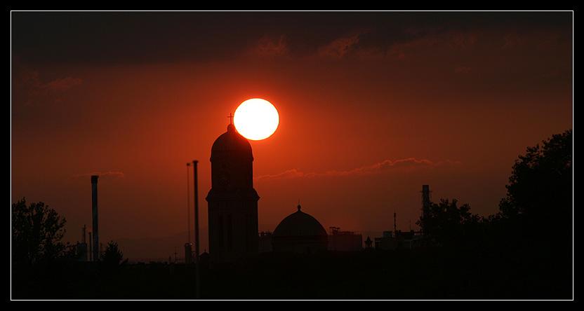 Sunset over Wohlgelegen
