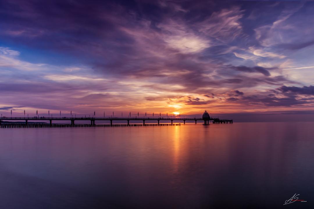 Sunset over Zingst
