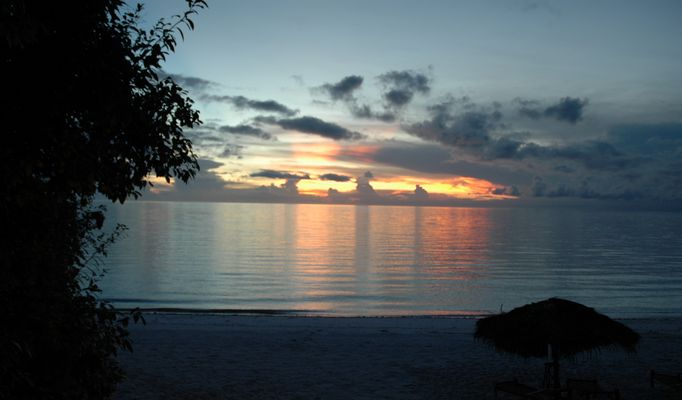 Sunset Pemba