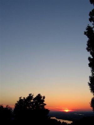 Sunset Petersberg