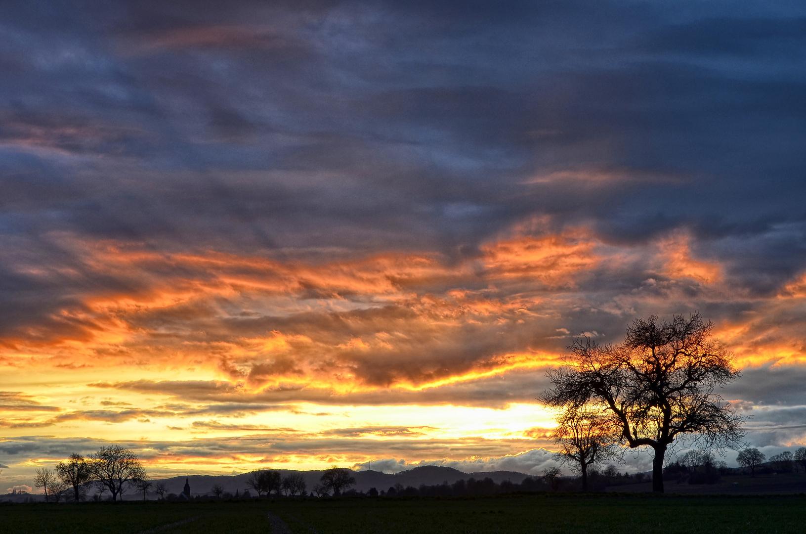 Sunset Pfalz
